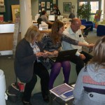 Cafe-style learning event Training Hull Factulty of Health and Social care
