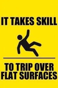 It takes skill