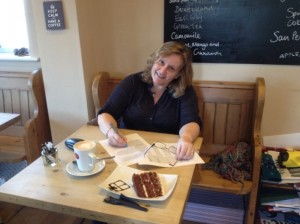 Nuturing my mental health - coffee and cake and a change of scene